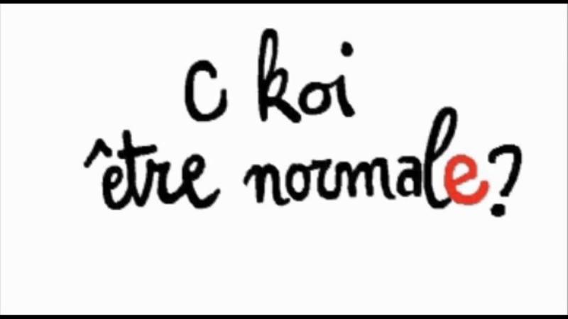 etre normale